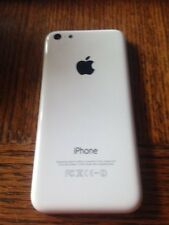 OEM Iphone 5c White back housing cover mid frame replacement
