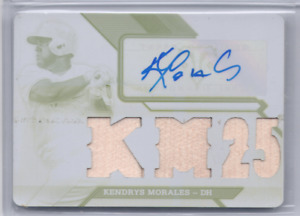 2017 Kendrys Morales 1/1 White Whale Topps Triple Threads Blue Jays