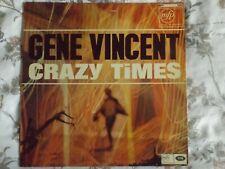 gene vincent vinyl album titled crazy times
