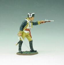 King & Country - AR36 - Officer Firing Pistol - En boite d'origine