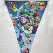 Plastic Birthday Party Bunting,Flag Banners  Decoration Toy Story 3