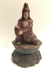 Antique Chinese Wood Carved Monk