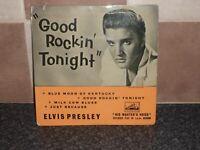 ELVIS PRESLEY GOOD ROCKIN' TONIGHT EP HMV 7EG 8256 VG+