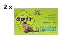 2 x Well Herb Keep Fit Reduce Fat 24 Capsules, Weight Loss and Boost Metabolism