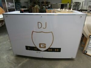 1 DJ Pult Steuerpult mobiler Tisch