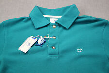 SOUTHERN TIDE Mens Cool Breeze Blue Long Sleeve SKIPJACK LOGO POLO SHIRT NWT  M