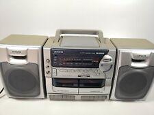Aiwa Portable Boombox Ca-Dw248U Am Fm Radio
