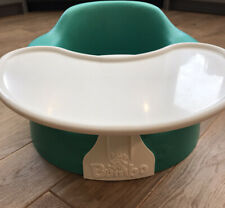 Unisex Green Bumbo Snug Floor Baby booster Seat, Removeable Activity Tray Posted