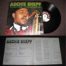 Archie Shepp & The New York Contemporary Five - Live Rare Double LP Free Jazz
