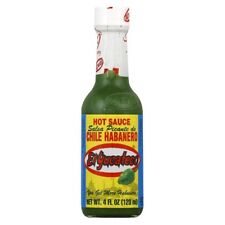 3 Bottles El Yucateco Chile Habanero, 1 Green, 1 Red, 1 Natural XXXTRA Hot Sauce