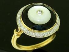 Diamond Pearl Natural Fine Rings