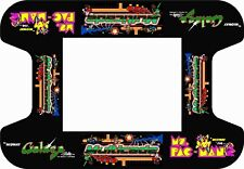 Pac Man ms galaga midway monitor shroud brackets for arcade game see pics
