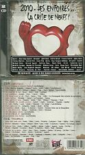 LES ENFOIRES 2010 : LA CRISE DE NERFS ( 2 CD - NEUF EMBALLE ) RESTOS DU COEUR