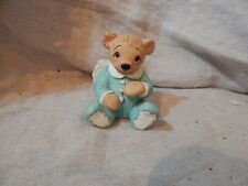 "Bear Angel Figurine Ceramic Kristin 2002 3"" (Dreamsicles?)"