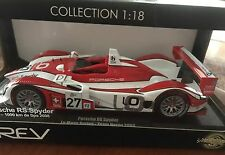 2008 Porsche RS Spyder LeMans Series Team Horag LMP2-1000 Km De Spa  1:18 NIB
