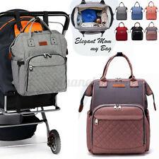 EU Wasserdicht Wickeltasche Babytasche Wickelrucksack Windel Rucksack Pflege Bag