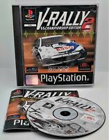 V-Rally 2 Video Game for Sony PlayStation PS1 PAL TESTED