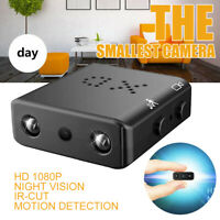 Mini Spion Versteckt Kamera 1080P HD Überwachungkamera Nachtsicht Spycam DVR