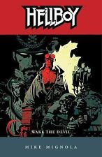 Hellboy: Wake the Devil by Mike Mignola (2004, Paperback)