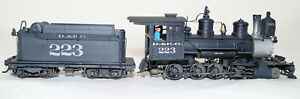 Sn3 Brass Railmaster C-16, Professionally built and painted Kit #223 D&RG