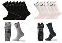 Mens Quality Cotton Rich Cushion Sole Crown Sports Socks Work Shoe Size 6-11 Lot