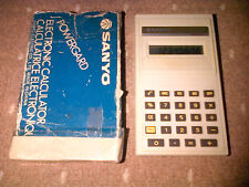 Vintage SANYO Powergard CX 111 Electronic Calculator VERY RARE Collectable