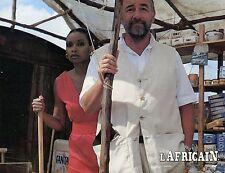 PHILIPPE NOIRET L'AFRICAIN  1983 PHOTO D'EXPLOITATION VINTAGE  N°3