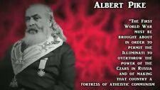 Albert Pike and the False Armageddon DVD~By Bill Hughes~Jesuit Illuminati Plans!