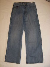 TONY HAWK LOOSE FIT BOY'S DENIM BLUE JEANS 14 REG EXCELLENT PREOWNED HARDLY WORN