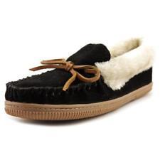 Zapatillas de andar color principal negro de ante por casa de mujer