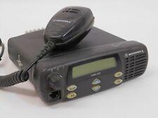 Motorola CDM-1250 AAM25RKD9AA2AN UHF 403-470 40W 64 Channel Mobile Radio w/ Mic