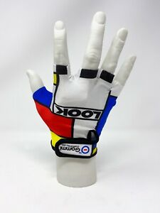 Look Team Replica Cycling Gloves, Retro, Vintage Cycling Gloves