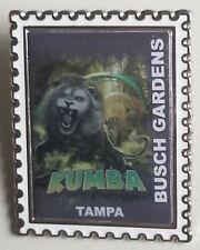 Busch Gardens Pin Kumba Stamp Trading Pin Roller-coaster ride