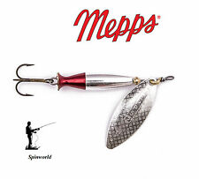 Mepps Long Heavy Silver Lures Flasher Spinner All Sizes 2 - 16g