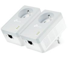 TP-Link CPL AV600 (Débit 600 Mbps), 1 Port Fast Ethernet, Prise Intégrée Version