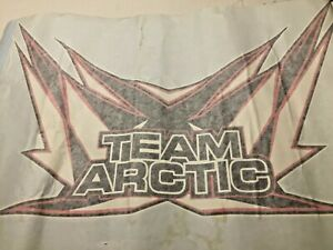 "Arctic Cat Snowmobile EXTRA LARGE Sticker Decal TEAM ARCTIC 25"" x 15"""