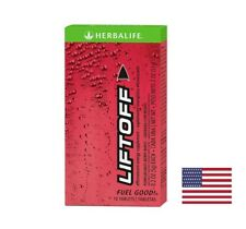 Herbalife Nutrition Liftoff Energy Support 10 Tablets Pomegranate-Berry Burst FS