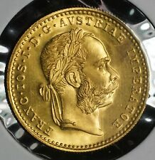 1915 Gold Austria Austrian 1 Ducat Coin