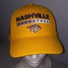Nashville Predators Stanley Cup Playoffs 2018 Adidas NHL Baseball Hat L/XL