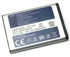 Genuine OEM Samsung AB553446GZ Replacement Li-Ion Battery 1000mAh for SCH-U320