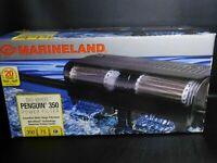 Power Filter Marineland Bio-Wheel Power Filter Penguin 350GPH 75 Gal Aquariums