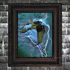 Storm Bird - Klingon Bird Of Prey - Star Trek Fan Art Print - Darkstars Creation