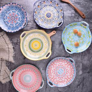 """Bohemia ver2"" Dishes Dinner Plates Tray Restaurant Home Dinnerware Tableware"