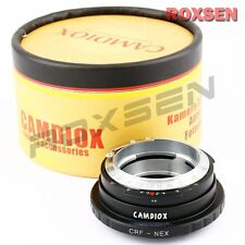 Camdiox CRF Contax Rangefinder RF lens to Sony E mount adapter NEX-7 5T A7 A6000
