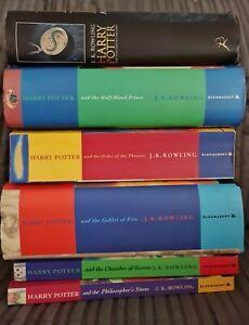 HARRY POTTER BOOKS Set Of 6, JK Rowling, Paperbacks & Hardbacks