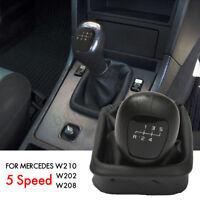 5 Levier de Vitesse Pommeau Soufflet For Mercedes Benz W202 C W208 CLK W210 E