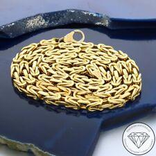 Wert 3.285,- Klassische 750 / 18 Karat Gelb Gold Königs Kette ca. 52 cm xxyy