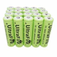 20pcs 18*65mm Batterie 8800mAh 3.7V Rechargeable Li-ion Battery For Flashlight