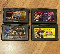 Yu-Gi-Oh Yugioh Duel Monsters EX 2006+2+3+GX Mezase King lot GameBoy Advance GBA