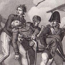 Saunier Toulon Napoléon Bonaparte Frégate L'Africaine Bataille d'Aboukir 1825